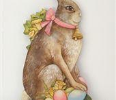 Pasen, konijnen