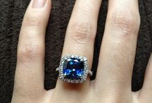 || sapphire engagement rings || / The most popular colored gemstone for engagement rings. These examples combine style and sophistication with the right amount of dazzle - curated by, www.littlebirdtoldyou.com