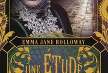 Emma Jane Holloway books / Book covers