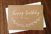 birthday cards & wrapping