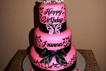 Birthday cakes / by Ebony