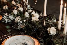 Moody Winter wedding
