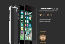 DEVOL TEMPERED GLASS / for iPhone 7 & 7Plus