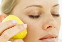 Lemon- Easy Homemade Face Masks   / When using easy lemon- homemade face masks, they will help you save money, and the best benefit is all the ingredients when using homemade face masks are so fresh, natural and good for your skin, homemade face masks will keep your skin looking beautiful and natural. / by Julie Granville