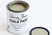 Chateau Gray Chalk Paint® decorative paint by Annie Sloan