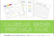 Learning printables