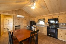 Bear Creek Campground Cabins! / Take a peak inside our one and two bedroom cabins!