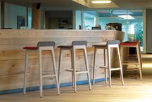 Indoor Barstools / Contemporary indoor kitchen and bar stools. http://www.coshliving.com.au/indoor-products/indoor-stools/