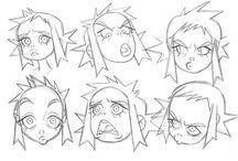 expresiones de personajes