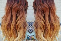 bayalage red hair