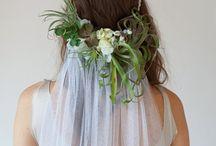 Wedding Dress, Hair
