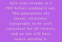 Careers @ Work Pro Tips
