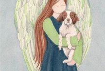Dog&Angel Art