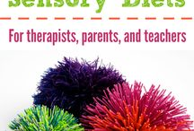 Sensory Diet / What is a Sensory Diet?  How can I create one for my SPD guy?