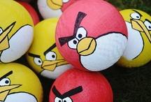 Angry birds birthday