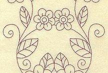 patrones de bordado mexicano
