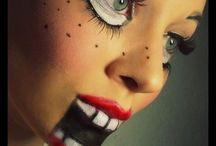 Halloween makeup / by Jennifer Maguire