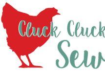 cluck cluck cushion