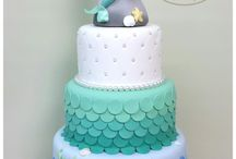 Annabelle eerste verjaarsdagpartytjie / Meermin/onderwatertema