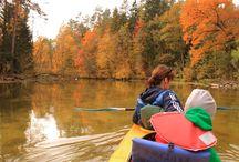 Rzeka Krutynia / Krutynia to kajakowy szlak uznawany za jeden z najpiękniejszych szlaków nizinnych Europy.