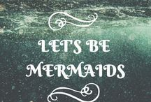 "But a mermaid has no tears... / ""But a mermaid has no tears, and therefore she suffers so much more.""  ― Hans Christian Andersen, The Little Mermaid"