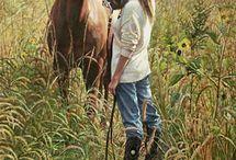 Girls and Horses / by Mary Liz Teresa