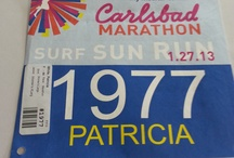 Carlsbad Marathon 2013 / My second full marathon! I woke up with my throat on fire and fever. What's a girl to do? Run you f*ckin a$$ off! Overall: 1141 out of 1451 Women: 420 out 605 F 40-44: 67 out 100 Age/Grade: 48.49% Place 922 Finish 5:07:47 Pace 11:45 Tag Time: 5:07:47 Gun Time: 5:08:54   Love this race has splits. Wish they were better: 9.4 mi: 1:43:22 Pace: 11:00 13.8 mi: 2:29.37 Pace 10:51 18.0mi: 3:31:19 Pace 11:12 19.9mi: 3:43:34 Pace 11:15