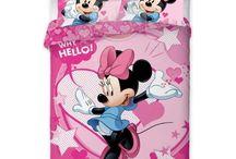 Minnie Mouse Disney bedding collection | Myszka Minnie Disneya kolekcja pościeli / Minnie Mouse Disney bedding set, beach towel, bedspread, pillowcase and accesories collection | Myszka Minnie Disneya kolekcja pościeli, ręczników, kocy narzuty i akcesoria