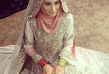 make up look muslim bride