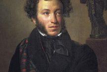 Alexander Pushkin - Пушкин, Александр Сергеевич / Алекса́ндр Серге́евич Пу́шкин (26 мая (6 июня) 1799, Москва — 29 января (10 февраля) 1837, Санкт-Петербург) — русский поэт, драматург и прозаик.