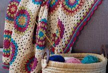 granny circle/square blanket