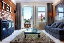 Mieszkanie w centrum Sztokholmu - inspiracja wnętrza w stylu skandynawskim z oryginalną cegłą