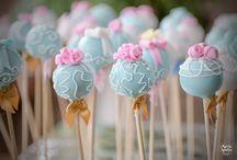 Pop Cake / Para sua festa a beleza dos pops cakes.