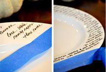 dinner table / by Kim Aman