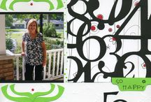 Scrapbooking ~ Me / Scrapbook pages etc. made by yours truly. / by Valerie Loescher