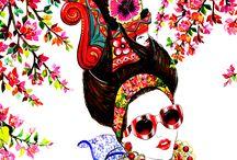 Fashion Illustrations/Sketchbooks/Design
