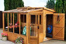Greenhouses sheds/potting