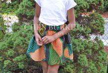 Kids in Print / African inspired Wear for Children