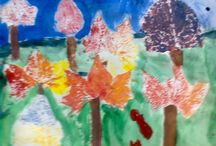 arte en la escuela primaria / los trabajos de mis alumnos