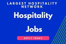 Hospitality jobs Hotel Jobs / Search thousands of hotel, restaurant, and resort jobs on Hospitality Online, the largest hospitality careers site in the world. Lists available jobs in hotels, restaurants, private homes, and other employment settings in the hospitality industry. We offer hotel jobs, restaurant jobs and international hospitality jobs. Use our job board for hotel, catering and travel industry. Search and apply online.