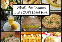 Monthly Meal Plans / Every month, we share a new meal plan on The PinterTest Kitchen!