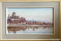 Esztergom, painting, bazilika, olajfestmény, oilpainting,
