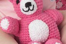 crochet animals / by Kathy Kirkland