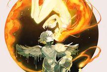 """,,Icarus and the sun"""" Picolo-kun"""