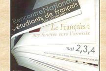 ENEUF / Rencontre Nationale des étudiants Universitaires de Français