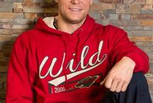 Hockey Player or Model? / The Minnesota Wild show off Hockey Lodge and stateofhockeystore.com apparel.  #mnwild  / by State Of Hockey Store