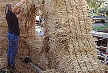 straw bale wall