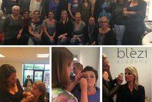 Blèzi Academy / Blèzi Business Partners trainingen. Huidverzorging, make-up, directe verkoop, persoonlijke ontwikkeling.