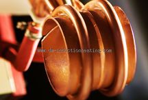 Induction heating tube and pipe