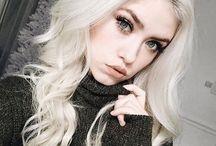 Pale blonde beauty